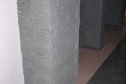 Obloženie žiletky stiepaným kameňom
