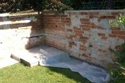 Rekonštrukcia záhradného múrika - Zobor