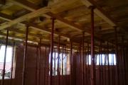 Podstojkovanie železobet. stropu